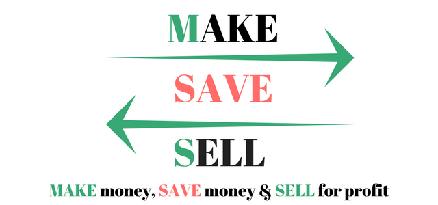 Make <> Save <> Sell